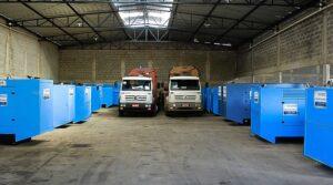 Locação de geradores para Praças de pedágio em BH e MG