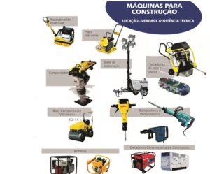 locaçãode maquinas para contrução civil em Belo Horizonte